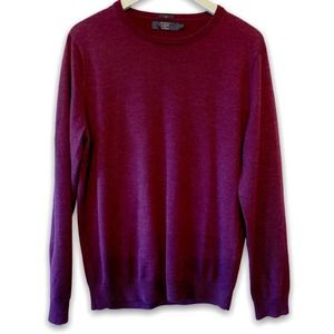 J. Crew Margot Crewneck 100% Merino Wool Sweater L